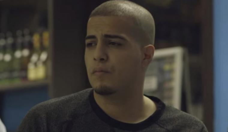 feis rapper in een videoclip
