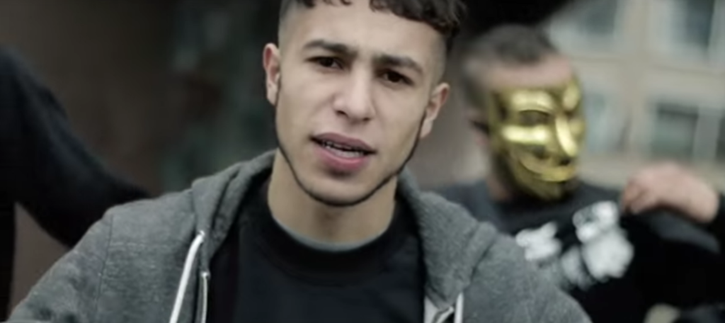 seffelinie in een videoclip