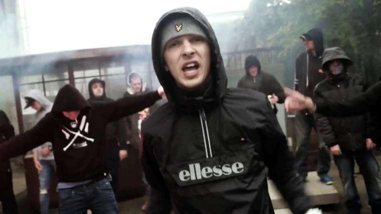 rapper ezg in een clip