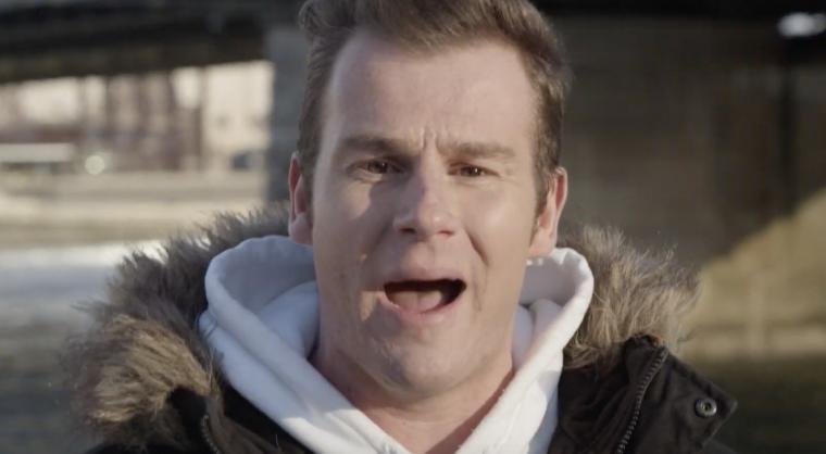 rapper sjors in een videoclip