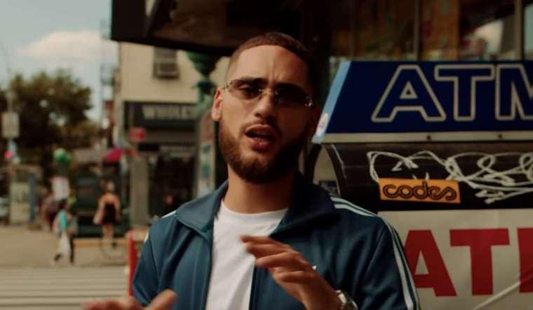 josylvio in een videoclip