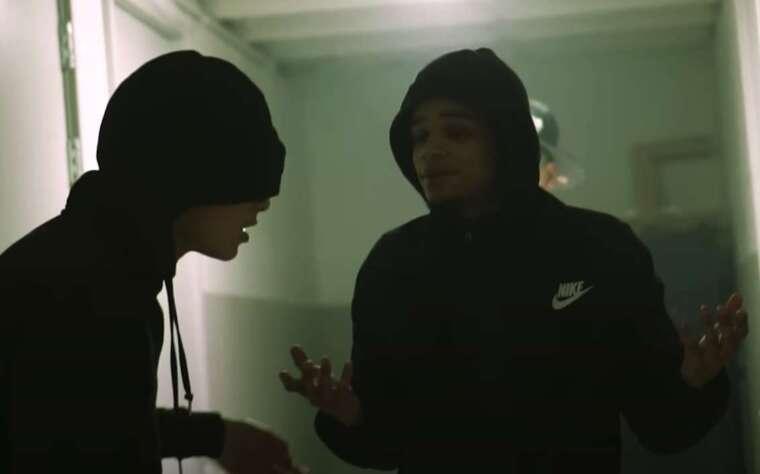adf lucky en adf samski in een videoclip