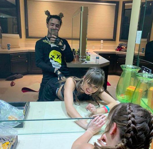 Riley Reid en rapper Lil Pump
