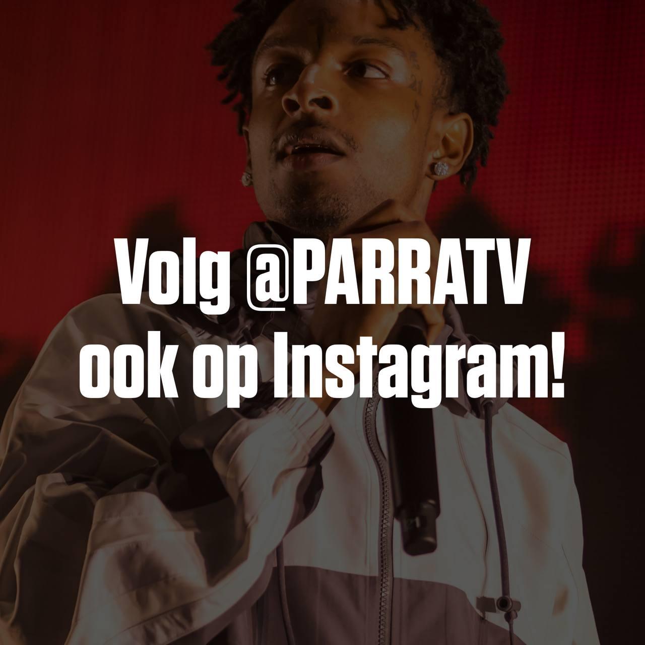 parratv volgen op instagram
